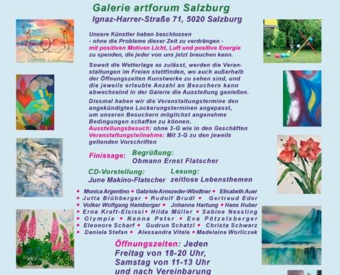 """Einladung zur Ausstellung """"Aufatmen"""""""
